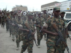 Rwandan soldiers ending Umoja Wetu operation in D.R.Congo