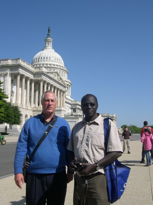Comboni Missionaries on Lobby Day, photo by Cindy Browne