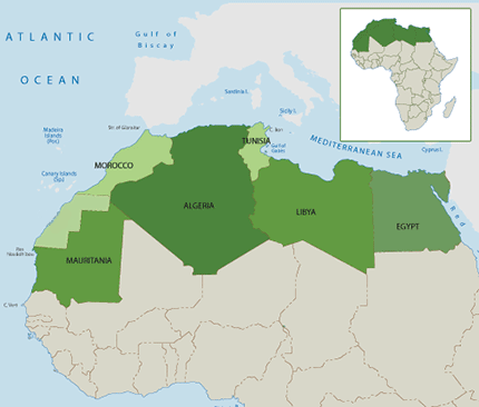 U.S. Military Presence and Activity in Africa: North Africa
